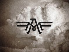 Creative monogram logos for design inspiration - 6 Monogram Design, Monogram Logo, Logo Inspiration, Unique Symbols, Fashion Logo Design, Presentation Cards, Luxury Logo, Eagle Logo, Photoshop