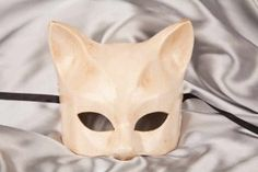 Kitten Masks for your Masquerade Ball or as Wall Decor