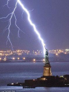 Thunderbolt, Liberty Island, New York