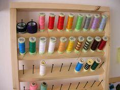 Cosir i fer ampolles: DIY: Organizador de hilos