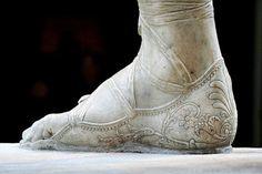 Antonio CANOVA | Perseo trionfante (dettaglio del sandalo), tra il 1797 e il 1801. Musei Vaticani a Roma