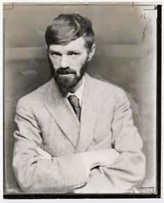 English writer D. H. Lawrence (11 September 1885 - 2 March 1930)