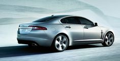 Jaguar XF - yes please can I have it in RED