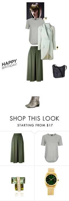 """""""Celebrate Our 10th Polyversary!"""" by yulia-k ❤ liked on Polyvore featuring Alexander McQueen, Topshop, Jacquie Aiche, Nixon, John Galliano, polyversary and contestentry"""