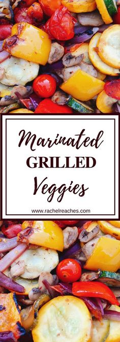 marinated grilled veggies make THE BEST summer side. My husband and I like. These marinated grilled veggies make THE BEST summer side. My husband and I like. These marinated grilled veggies make THE BEST summer side. My husband and I like. Marinated Grilled Vegetables, Grilled Vegetable Recipes, Grilling Recipes, Cooking Recipes, Healthy Recipes, Veggie Recipes For Bbq, Recipes For The Grill, Grilled Veggie Kabobs, Summer Grill Recipes