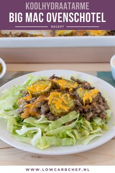Big Mac ovenschotel – Well come To My Web Site come Here Brom Big Mac, Low Carb Cheesecake, Keto Dinner, Keto Brownies, Love Food, Butter Chicken, Healthy Lifestyle, Clean Eating, Healthy Recipes