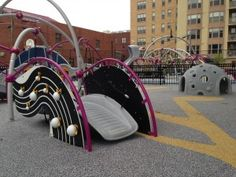 Another piece at the Harrison Inclusive Playground in Washington, D.C.