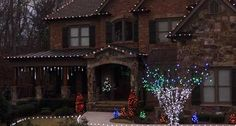 53 Best Christmas Light Ideas Images In 2017 Christmas