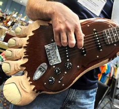 A foot Guitar.. what can i say about this model??