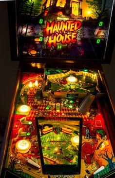 Haunted House pinball -  1982