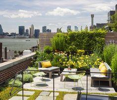 21 bold floral rooftop garden - Shelterness