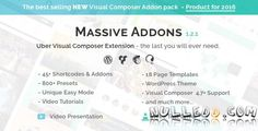 CodeCanyon  Visual Composer Extensions  Massive Addons v1.2.1  All In One Ultimate Addon Pack