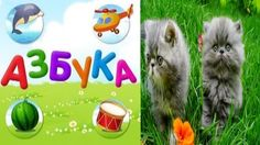 Азбука для малышей. Учим алфавит с животными 1 ЧАСТЬ.