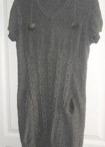 Robe tunique grise très confortable 15€ + fdp