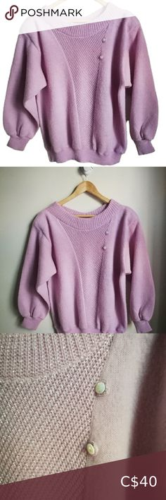 Check out this listing I just found on Poshmark: VINTAGE 80s Pink Oversized Crewneck Knit Sweater. #shopmycloset #poshmark #shopping #style #pinitforlater #Vintage #Sweaters