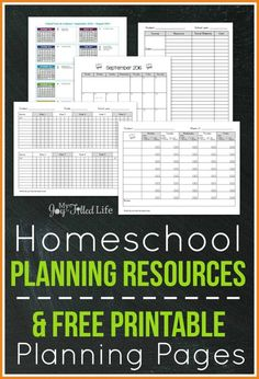 FREE Printable Homeschool Planning Pages Around this time each year I like to put together a little round-up of the planning resources especially for homeschoolers. And I wrap it up with some FREE printable planning pages that I've made for Free Homeschool Curriculum, Homeschooling Resources, Curriculum Planning, Easy Peasy Homeschool, Homeschool Transcripts, Homeschool Supplies, Homeschool High School, Homeschool Kindergarten, Preschool Curriculum
