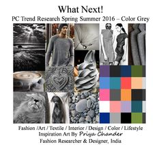 #fashion #art #design #SS16 #grey #textiles #knitwear #interior #pantone #palette #colortrends #trendsetter #crochet #lifestyle #interiors #lifestyle #innovation #inspiration #greycolor #weave #print #pattern #poster #wallart #designer