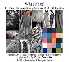 #fashion #art #design #SS16 #grey #textiles #knitwear #interior #pantone #palette #colortrends #trendsetter #crochet #lifestyle #interiors #lifestyle #innovation #inspiration #greycolor #weave #print #pattern #poster #wallart #designer