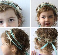 Butterfly hippie child headband ..tutorial