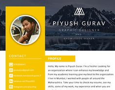 "Check out new work on my @Behance portfolio: ""Resume Design"" http://be.net/gallery/43233827/Resume-Design"