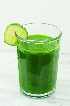 Licuados para bajar de peso rapido: Batido verde de kiwi, limón y mas