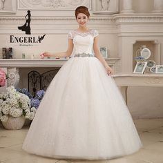 Gorgeous Pregnant Wedding Dress Crystal Sashes Ivory Tulle Bride Gown Floor Length Marriage Lace Up Back Customized Summer Dress