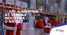 O Natal é uma data comemorativa importante não só para os consumidores, mas claro, para as indústrias também. Com isso, surge a dúvida: Como aumentar as suas vendas para esse período? Nós te ajudamos! crie promoções para sua carteira de clientes; abra espaço para novos leads; aproveite o período para remarketing. Quer saber como sua indústria deve se portar no Natal, veja em nosso blog: bit.ly/3pnarPh #triwidigital #triwi #marketingdigital #marketingdigitalb2b #marketingb2b #indústria… Data, Marketing Digital, Sports, Blog, Wallet, Articles, Hs Sports, Blogging, Sport