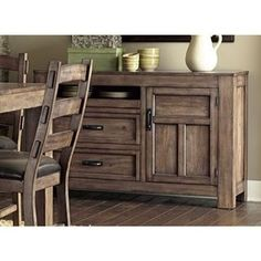 Boulder Creek Server Buffet Hutch - Overstock Shopping - Big Discounts on Progressive Buffets