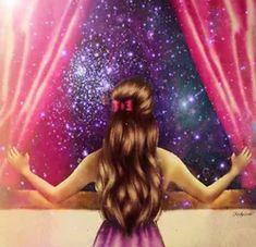Art/Drawings: Starry Night (by Kristina Webb) Amazing Drawings, Beautiful Drawings, Cool Drawings, Amazing Art, Galaxy Drawings, Drawing Pictures, Kristina Webb Drawings, Kristina Webb Art, Bernard Shaw