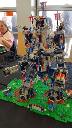 Upper hunter brickshow | Catpipe | Flickr Extreme lego fortress mech