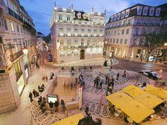 Il Quartiere del Chiado a Lisbona