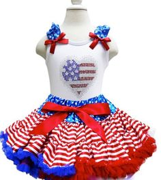 Gorgeous 4th of July pettiskirt and tank. Double layered and made of fabulous NYLON CHIFFON. Soft satin covered elastic waistband. Gorgeous ribbon at the waist.Made of lightweight material. Your little princess will feel comfortable and look adorable! So perfect for so many occasions. SHOP https://www.theprettylittleboutique.com/collections/4th-of-july/products/copy-of-4th-of-july-princess-american-flag