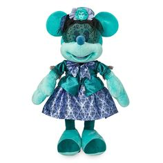 Minnie Mouse: The Main Attraction Plush – The Haunted Mansion – Limited Release | shopDisney