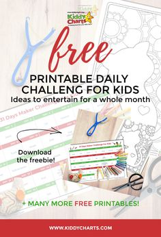 Daily challenges for kids: Free 31 day maker challenge printable Bingo Games For Kids, Games To Play, Emoji Bingo, Worry Tree, Thank You Poster, Lego Challenge, Daily Challenges, Word Games