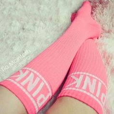 The perfect pink football socks #benebeautysquad