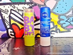 Batalha dos Lip Balms: Nivea X Maybelline    por Carolina  Rabêlo | Deixe Apenas Fluir       - http://modatrade.com.br/batalha-dos-lip-balms-nivea-x-maybelline