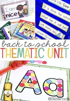 This back to school Beginning Of The School Year, First Day Of School, Back To School, School Fun, School Teacher, Toddler Learning Activities, Preschool Activities, Alphabet Activities, Teacher Resources