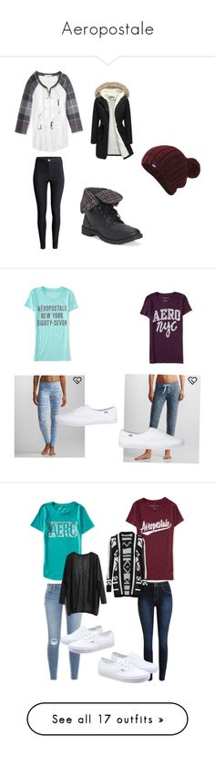 """Aeropostale"" by that-girl-j ❤ liked on Polyvore featuring Aéropostale, H&M, Keds, women's clothing, women's fashion, women, female, woman, misses and juniors"