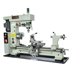 "16"" x 30"" Combo Metal Lathe Mill Drill [BT800] Got to get me one of these for my garage."