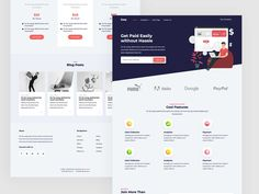 Easy is a free Bootstrap 4 template suitable for SaaS or app landing pages. It is built with outstanding features in mind that will effectively attract and convert visitors. Css Website Templates, Html Templates, App Landing Page, Pricing Table, Ui Kit, Free Design, Mindfulness, Easy, Blog