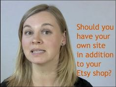 If you have an Etsy shop, do you also need to have your own website? Check out this video to find out Andreea's take on it and leave a comment at http://www.launchgrowjoy.com/etsy-shop