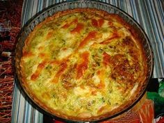 Quiche, Veggies, Menu, Breakfast, Blog, Empanadas, Dessert Food, Cooking Recipes, Chicken