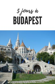 Let's go for a few days to Budapest, the capital of Hungary, well known for its Parliament and its baths! I also loved the Fisherman's Bastion, which is a real little wonder. Destinations D'europe, Inter Rail, Capital Of Hungary, European City Breaks, Holiday Break, European Destination, Blog Voyage, Grand Tour, Gardens