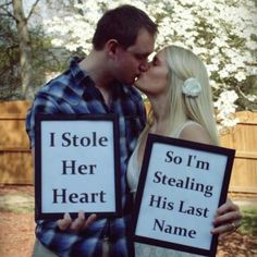 Picture idea for when I get married one day (: