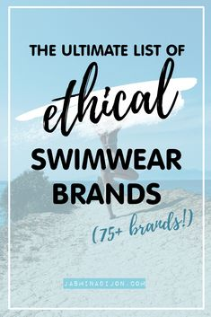 ethical and sustainable swimwear brands 2018 - a list of more than 75 brands from all over the globe Fashion Group, Fashion Outfits, Autumn Fashion 2018, Swimwear Brands, Winter Looks, Slow Fashion, Sustainable Fashion, Casual Chic, Style Ideas
