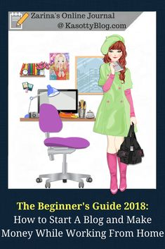 How to become a blogger and get paid? How to start a blog in 2018 and make money online while working from home? Click for complete beginner's guide to blogging in 2018. |  #blog #blogging #blogger #bloggingtips #beginnersguide #becomeablogger #howtomakemoney #makemoneyonline #makemoneyfromhome #workfromhome #workfromhomeopportunities #workingfromhome #startablog #startawebsite #websitetips #makingmoneyonline #makemoneyblogging #blogginggals #fashionblogger #travelblogger #lifestyleblogger