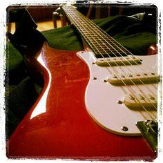 Mijn Fender squier