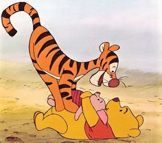 But Pooh of USA is friends with Tigger, who is literally always knocking him…