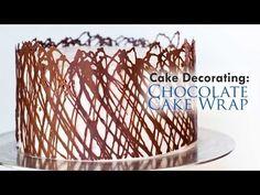 CHOCOLATE HACKS White Chocolate Decoration Technique by CakesStepbyStep - YouTube