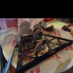 Grilled clams at Summer Shack in Cambridge. Www.summershackrestaurant.com